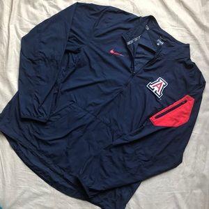Arizona U Nike Windbreaker XL